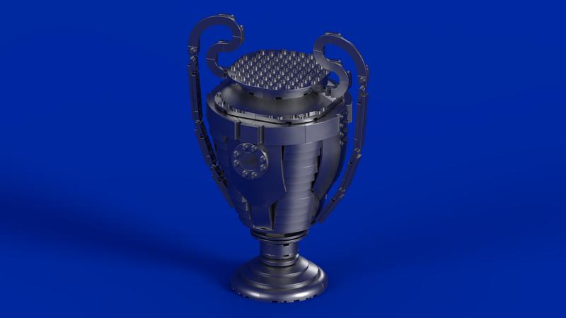lego ideas uefa champions league trophy lego ideas uefa champions league trophy