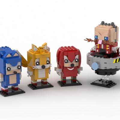 Lego Ideas Sonic The Hedgehog Series Brickheadz Sonic Tails