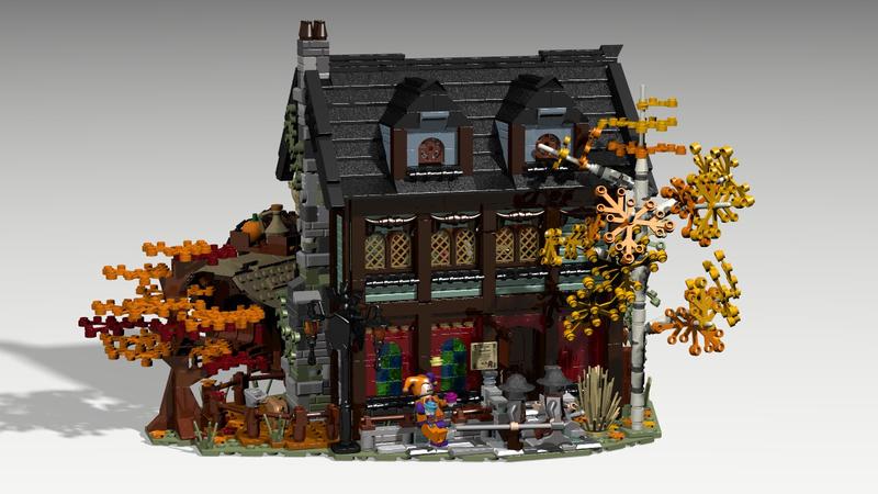 LEGO IDEAS - - Medieval Inn