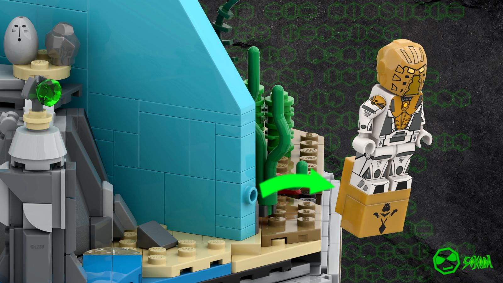 """""""La légende de BIONICLE : 20 ans d'histoires LEGO"""" atteint les 10 000 votes Resize:1600:900"""