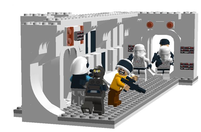 Lego Ideas Lego Star Wars Tantive Iv Hallway