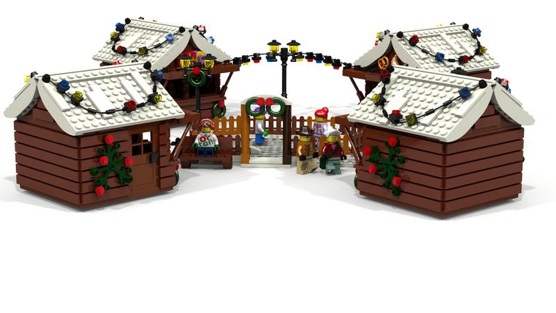 Lego Ideas Christmas Markets