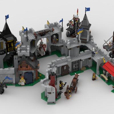LEGO IDEAS - - Siege the castle !