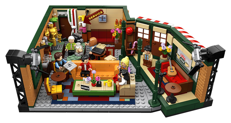 BRAND NEW IN BOX. NEW LEGO IDEAS 21319 FRIENDS CENTRAL PERK
