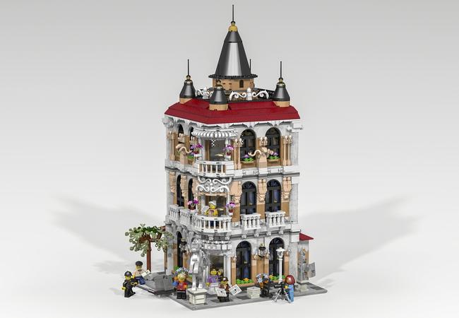 LEGO IDEAS - Blog - 10K Club Interview: Meet Pablo Sánchez