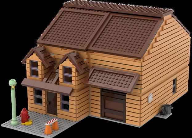 Lego Ideas Garfield S House