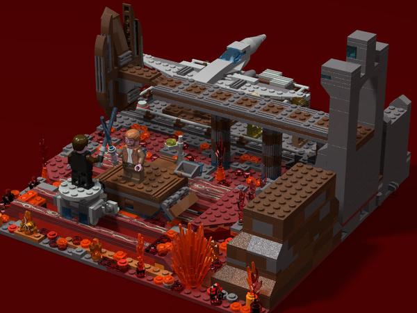 Lego Ideas Duel On Mustafar
