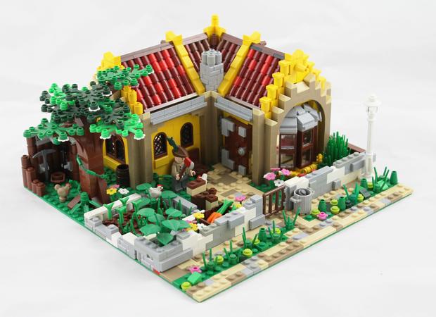Lego Ideas Small House With Garden