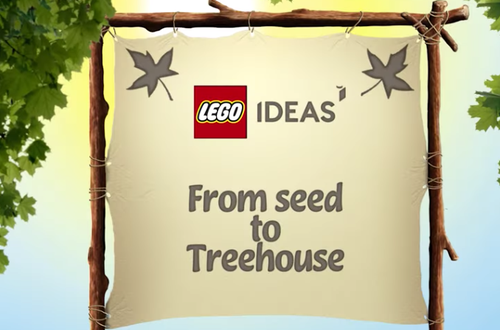 First official look at the 21318 LEGO Ideas Treehouse Image