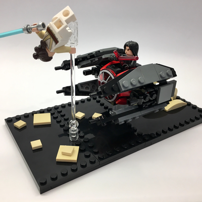 Lego Ideas The Greatest Battles Built By You Rey Vs Tie Interceptor The Rise Of Skywalker