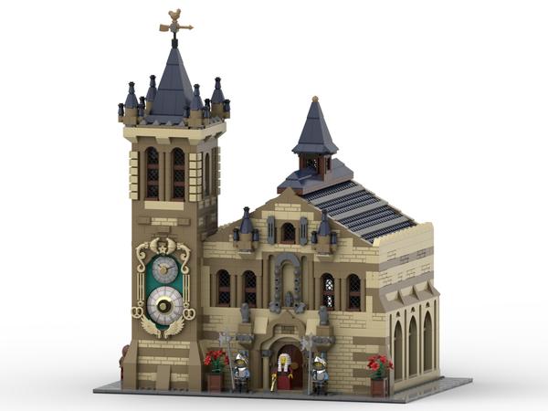 LEGO IDEAS - - Medieval Town Hall