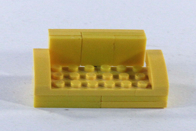 Wondrous Lego Ideas Yellow Sofa Bed Squirreltailoven Fun Painted Chair Ideas Images Squirreltailovenorg