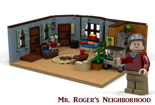 Lego Ideas Mr Roger S Neighborhood