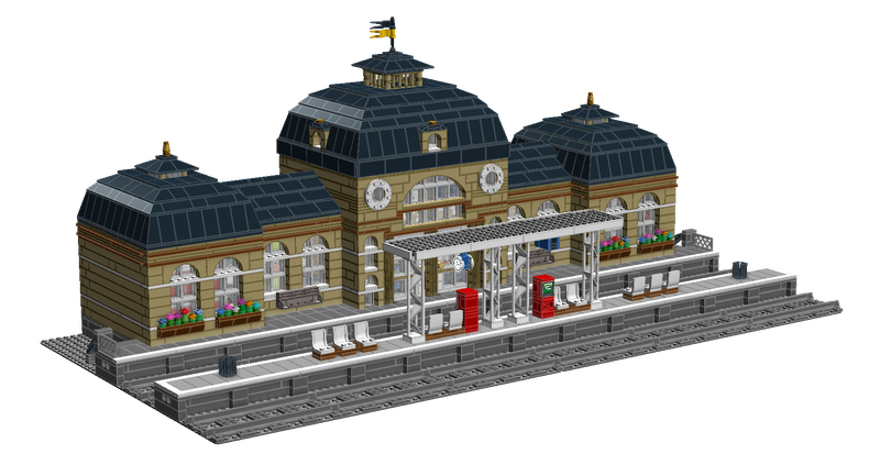 LEGO IDEAS - - Classic Train Station