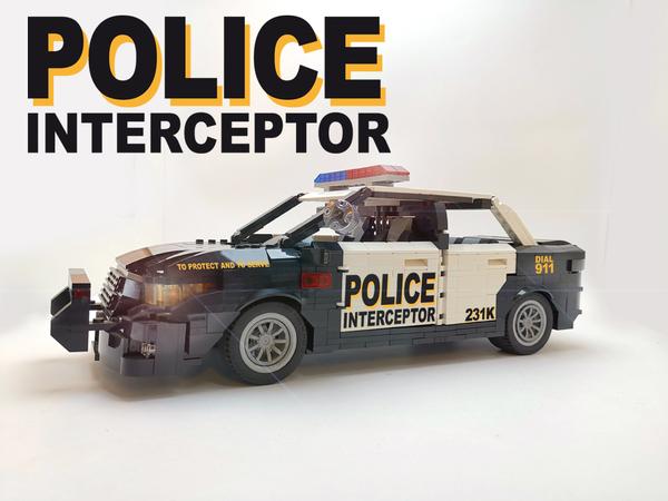 Lego Ideas Police Car Interceptor 2020