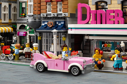 Build a Vintage car to cruise the streets of LEGO® Modular Buildings Contest - Fan Vote Closed Image