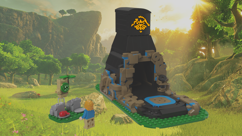 Lego Ideas Botw Shrine A Korok