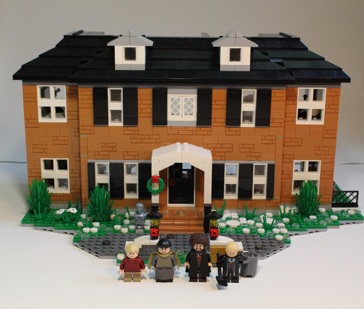 Lego Ideas Home Alone The Mccallister House