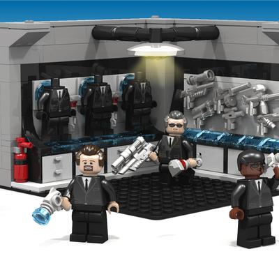 Lego Ideas Product Ideas Men In Black 20th Anniversary
