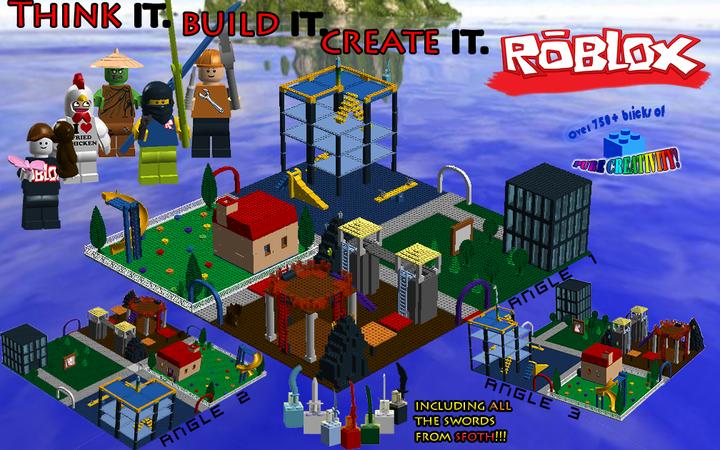 Lego Ideas Roblox Classic Set