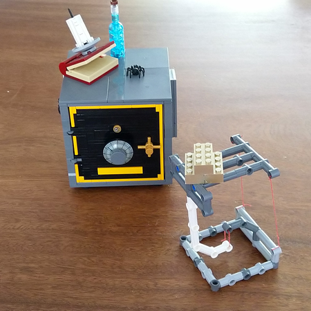 Lego Ideas Can You Tensegrity Gold Out Of Sheriff S Safe Put To Tensegrity