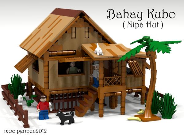 Lego Ideas Product Ideas Bahay Kubo Nipa Hut