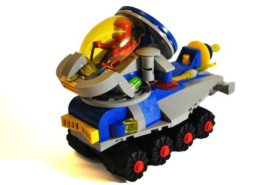 Lego City Sailing in Orange Plastic