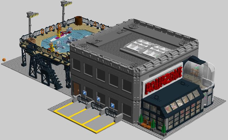 Lego Aquatic Shark Animal Sea Life For Pirates Aquazone! Castle City