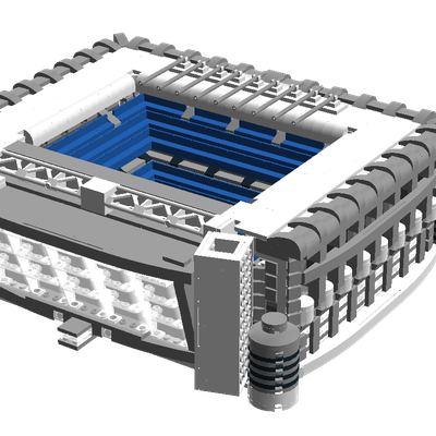 Lego Ideas Real Madrid Stadium Santiago Bernabeu