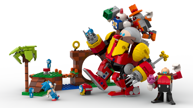 Lego Ideas Sonic Mania Green Hill Zone Achieves 10 000 Supporters The Brick Fan