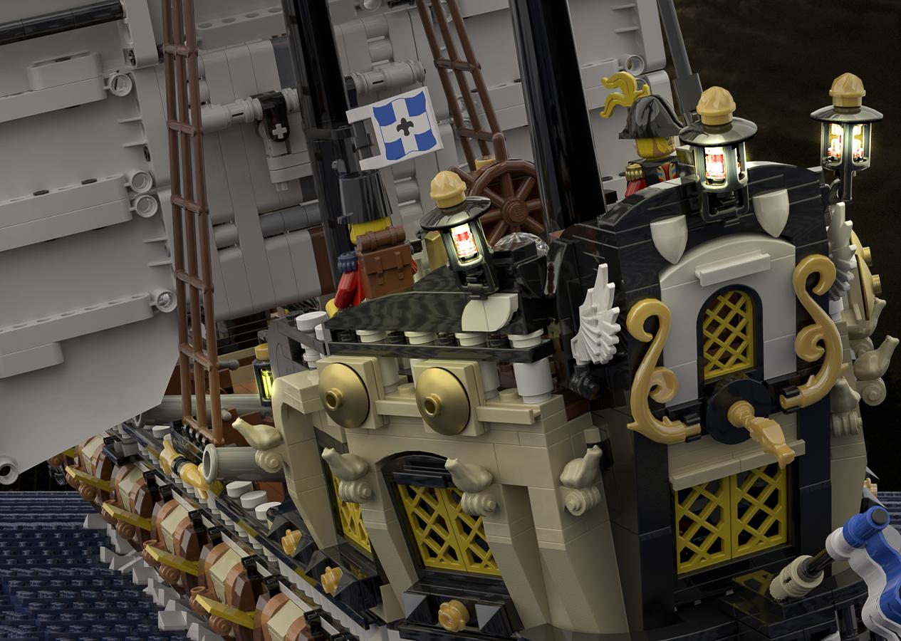 Render of Sword of the Seas