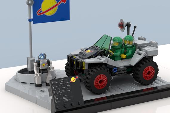 Lego Ideas Space Moon Base