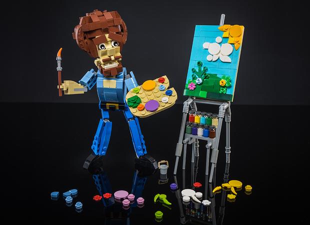 Lego Ideas Bob Ross The Joy Of Painting