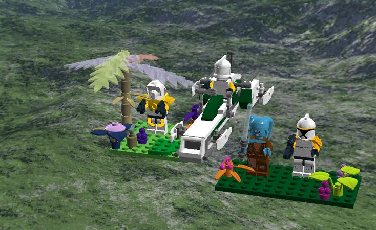 Lego Ideas Star Wars Felucia Order 66