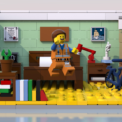 Lego Ideas Emmet S Apartment