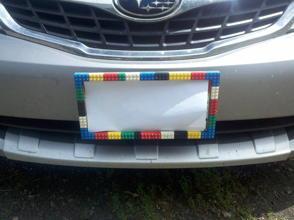 Custom License Plate Covers >> Lego Ideas Product Ideas Custom License Plate Covers