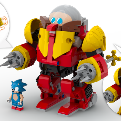 Lego Ideas Sonic Mania Green Hill Zone