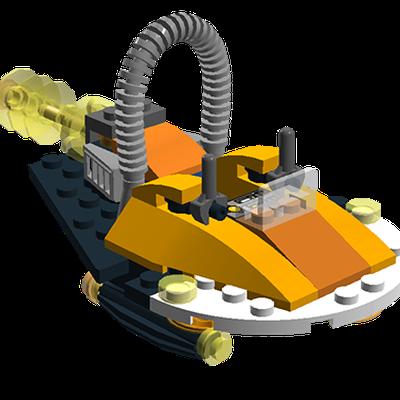 Lego Ideas Starseeker Hovercraft 1