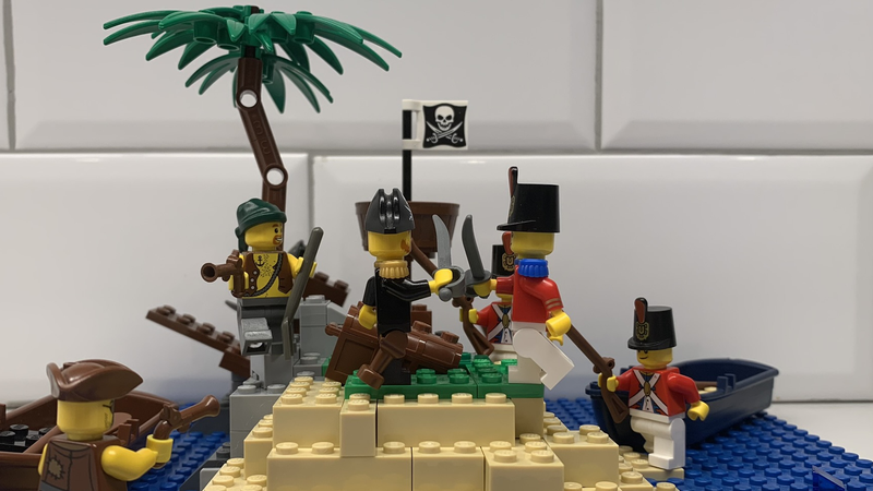 Lego Ideas Your Build In The World Famous Lego House Minifigure Shipwreck Island