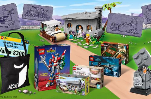 New Contest - The Flintstones: Transform your LEGO bricks into wacky Bedrock inventions! Image