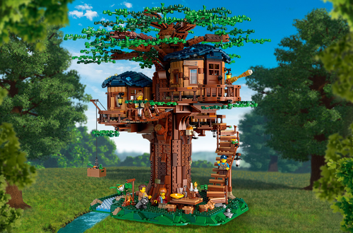 LEGO Ideas 21318 Treehouse - Available Now Image