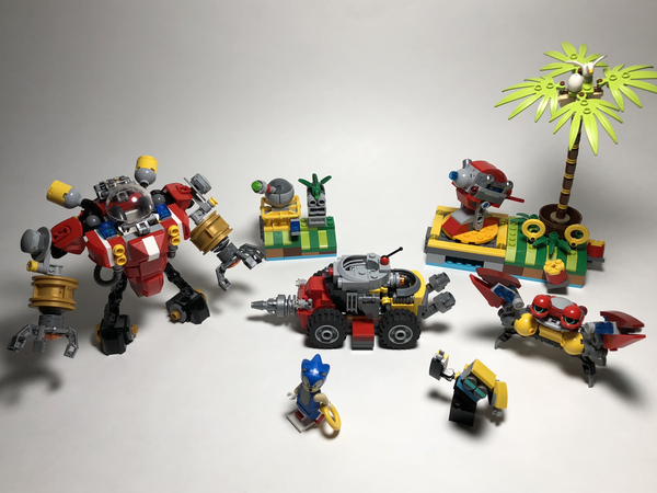Lego Ideas Lego Sonic The Hedgehog Vs Dr Eggman