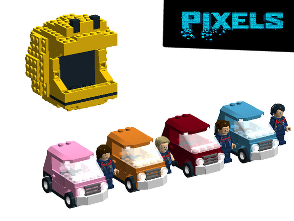 Lego Ideas Pac Man Pixels