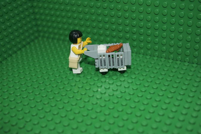 Lego Ideas Shopping Trolley