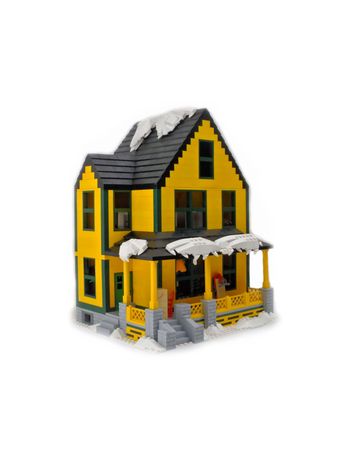 Christmas Story House.Lego Ideas Product Ideas The Lego Christmas Story House