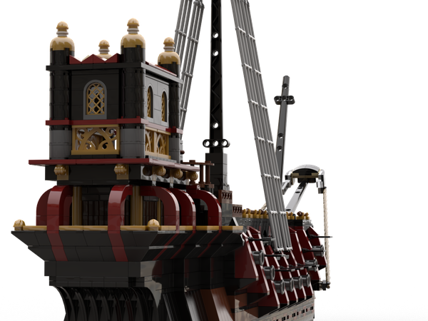 Lego Ideas Magical Builds Of The Wizarding World Hogwarts Durmstrang S Ship Durmstrang's ship inspired handmade christmas ornament harry potter fans. lego ideas magical builds of the