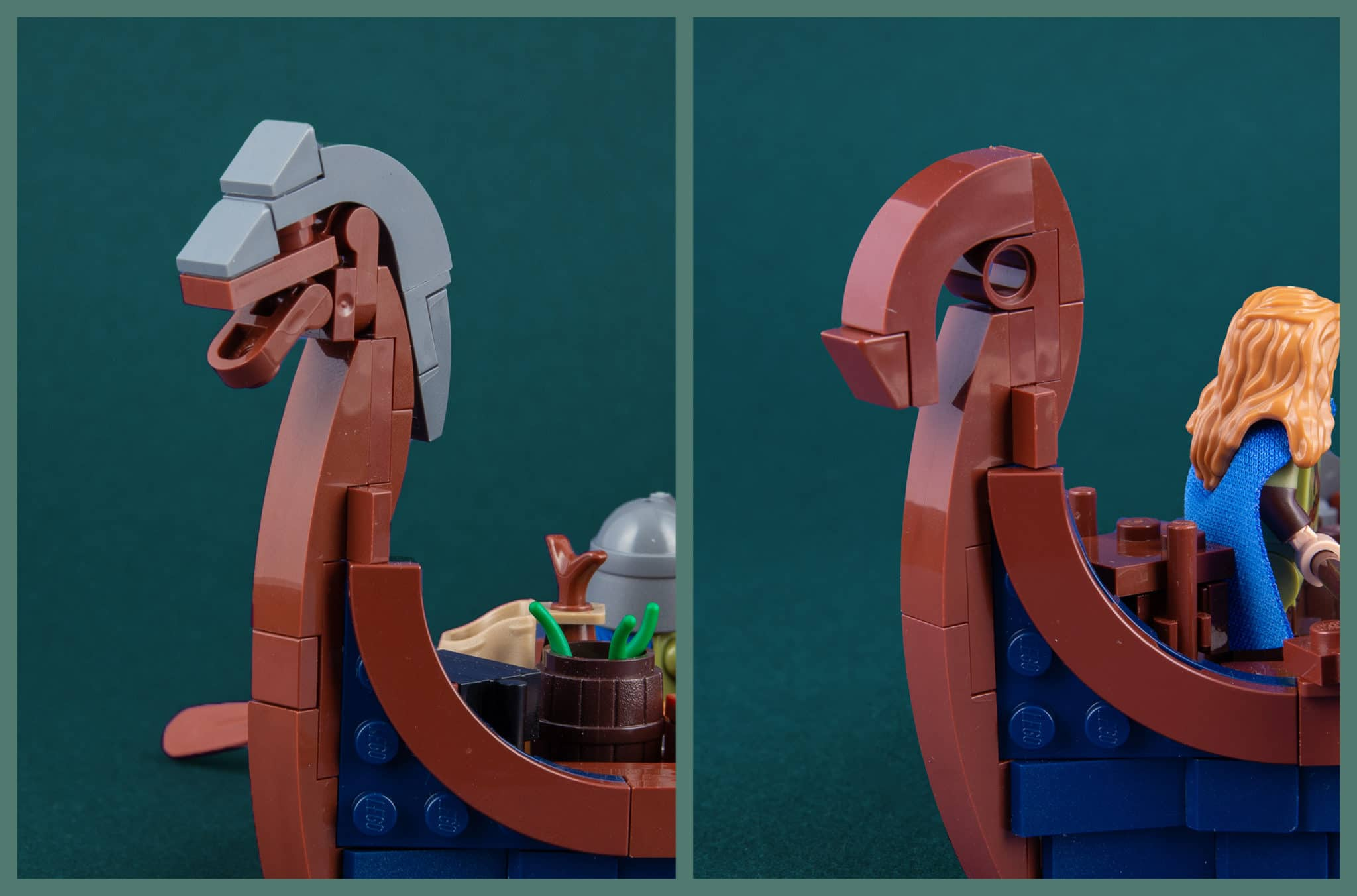 LEGO Ideas Longboat Details01