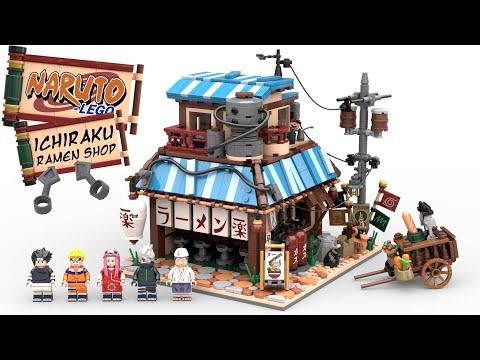 Lego Ideas Naruto Ichiraku Ramen Shop